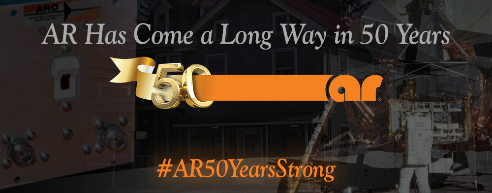 AR's 50th Anniversary. Find Out More: