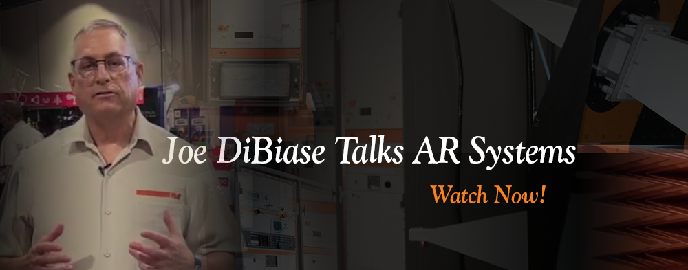 AR Systems With Joe DiBiase. Watch Now:
