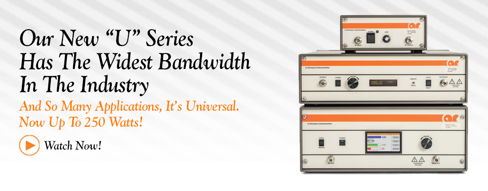 """U"" Series Amplifiers With Rob Rowe. Watch Now!"